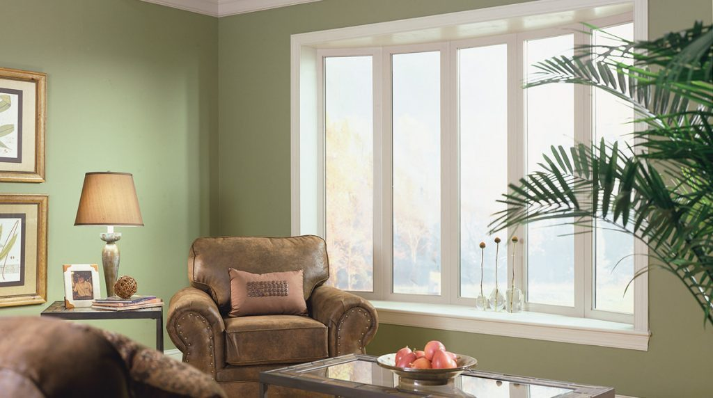 Vinyl Bay Window Design