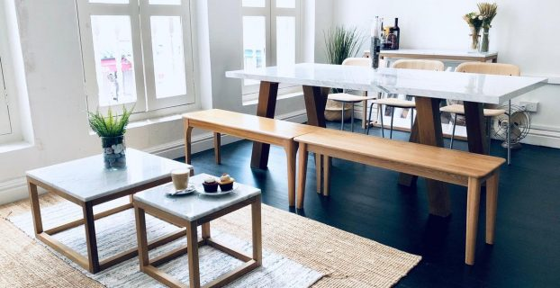 wooden coffee table singapore
